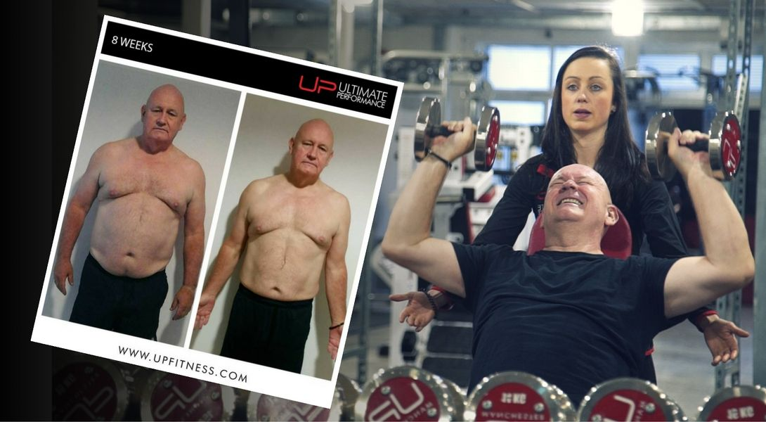 61 year old male body transformation