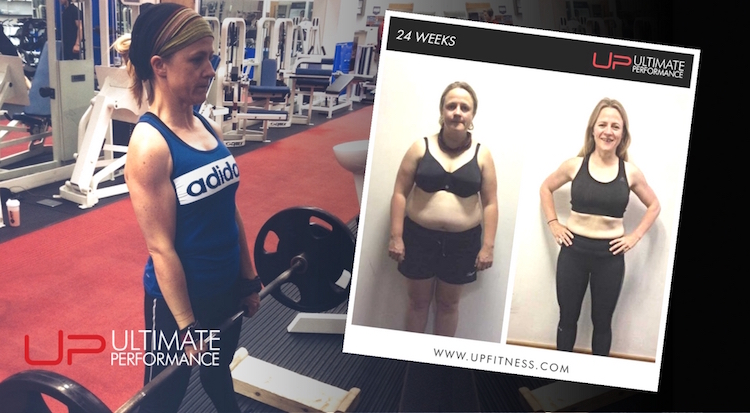 Lawyer Kate loses 23kg in just 24 weeks.