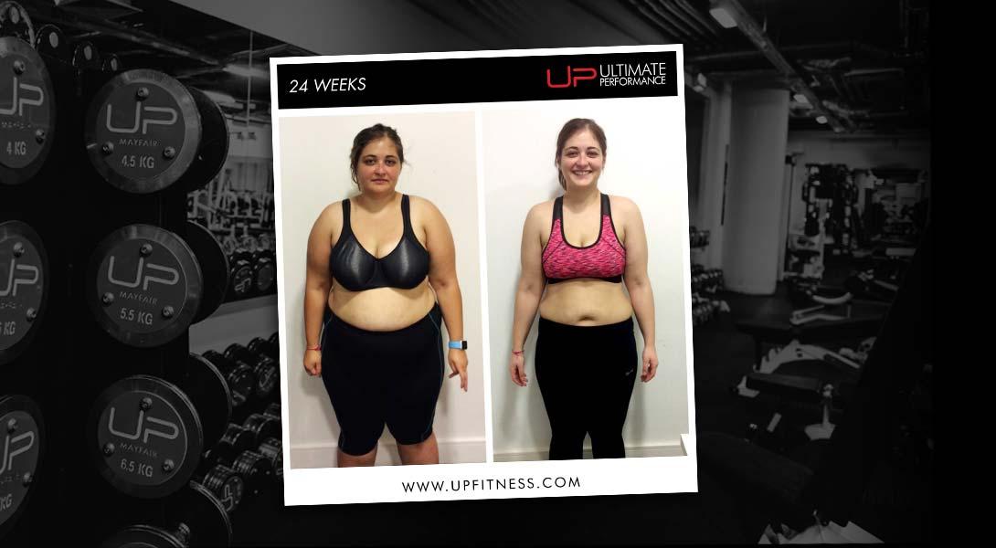 24-week transformation