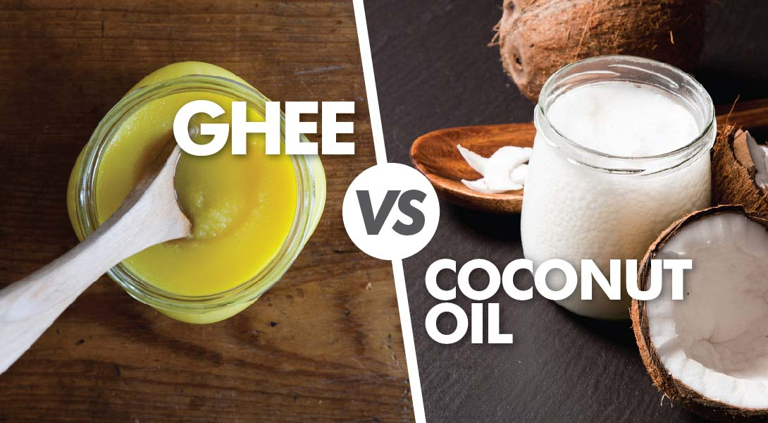 ghee vs coconut oil