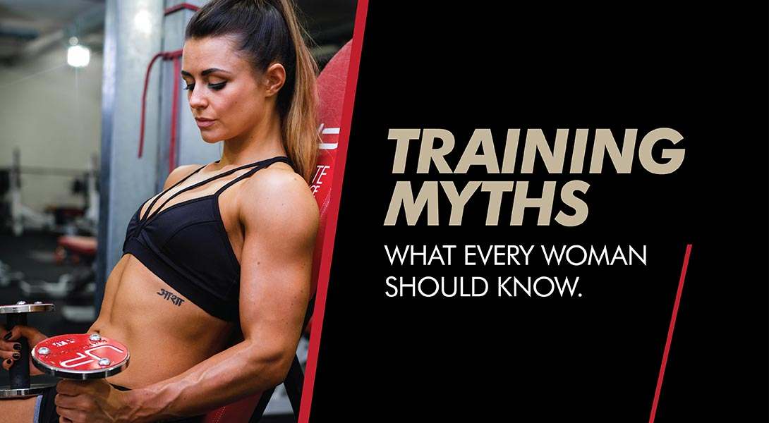 Women female training myths mistakes