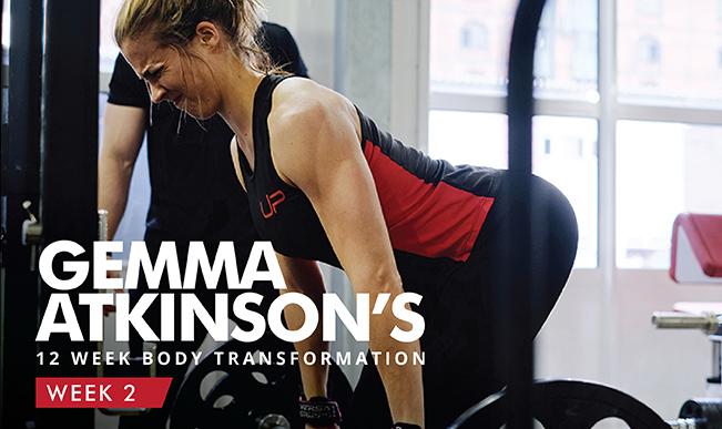 Gemma Atkinson body transformation journey - UP