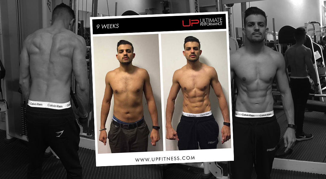 Varun achieved the cover model body he thought was impossible in just 9 weeks at Ultimate Performance