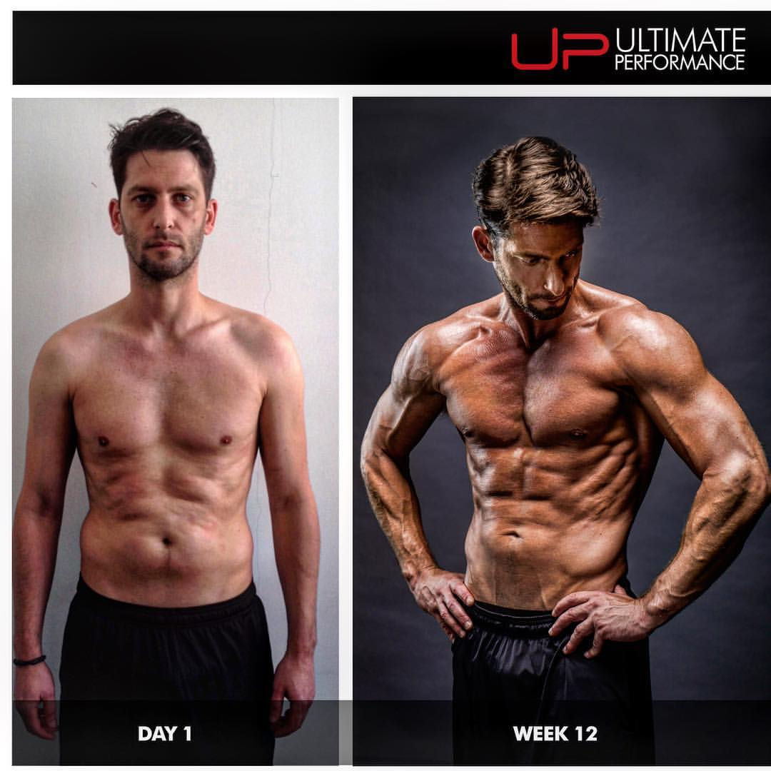 male body transformation before and after