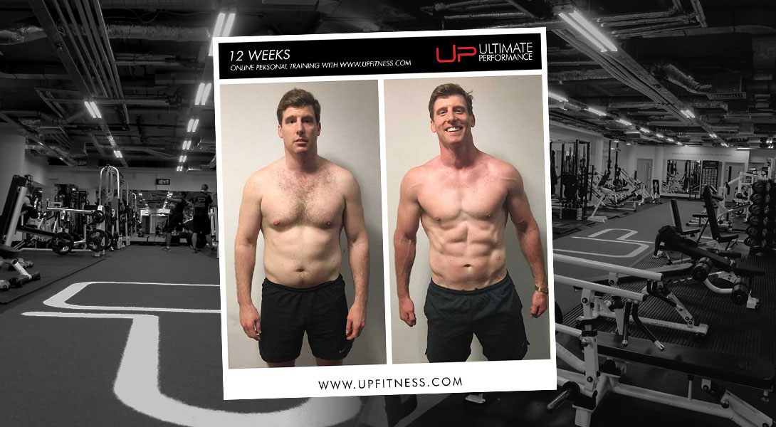 Former Army Commander Josh Built This 12-Week Body With Online PT - UP