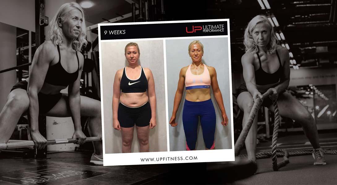 Marta 9-week transformation