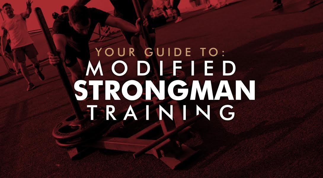 Modified strongman training
