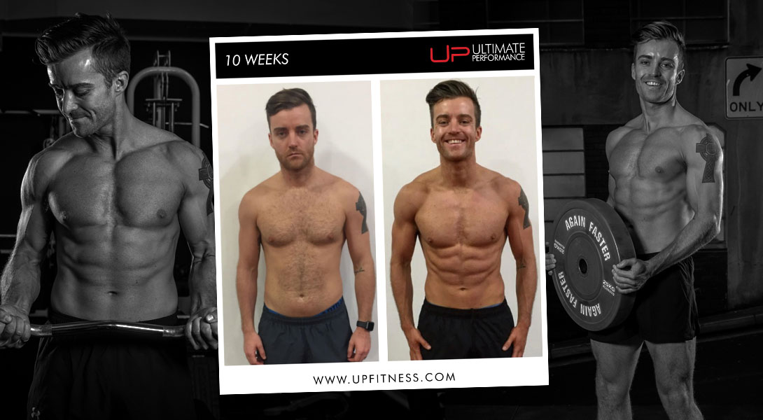 Paul body transformation Ultimate Performance