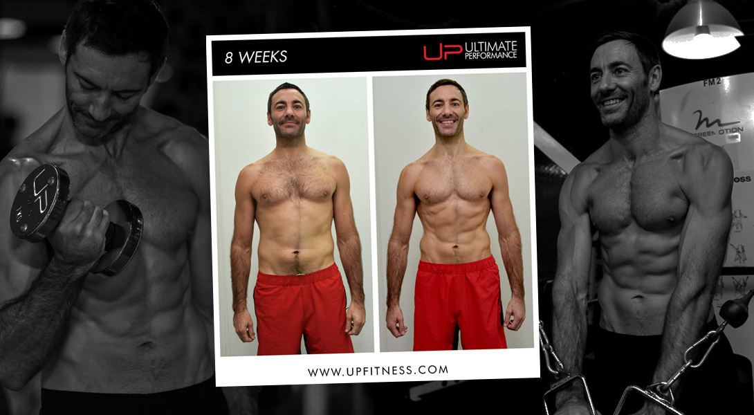Craig 8-Week Body Transformation Ultimate Performance Singapore