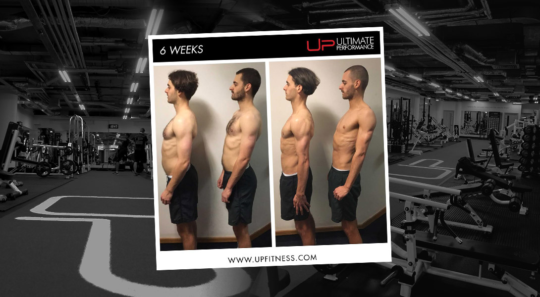 Alex and Gavin six-week transformation