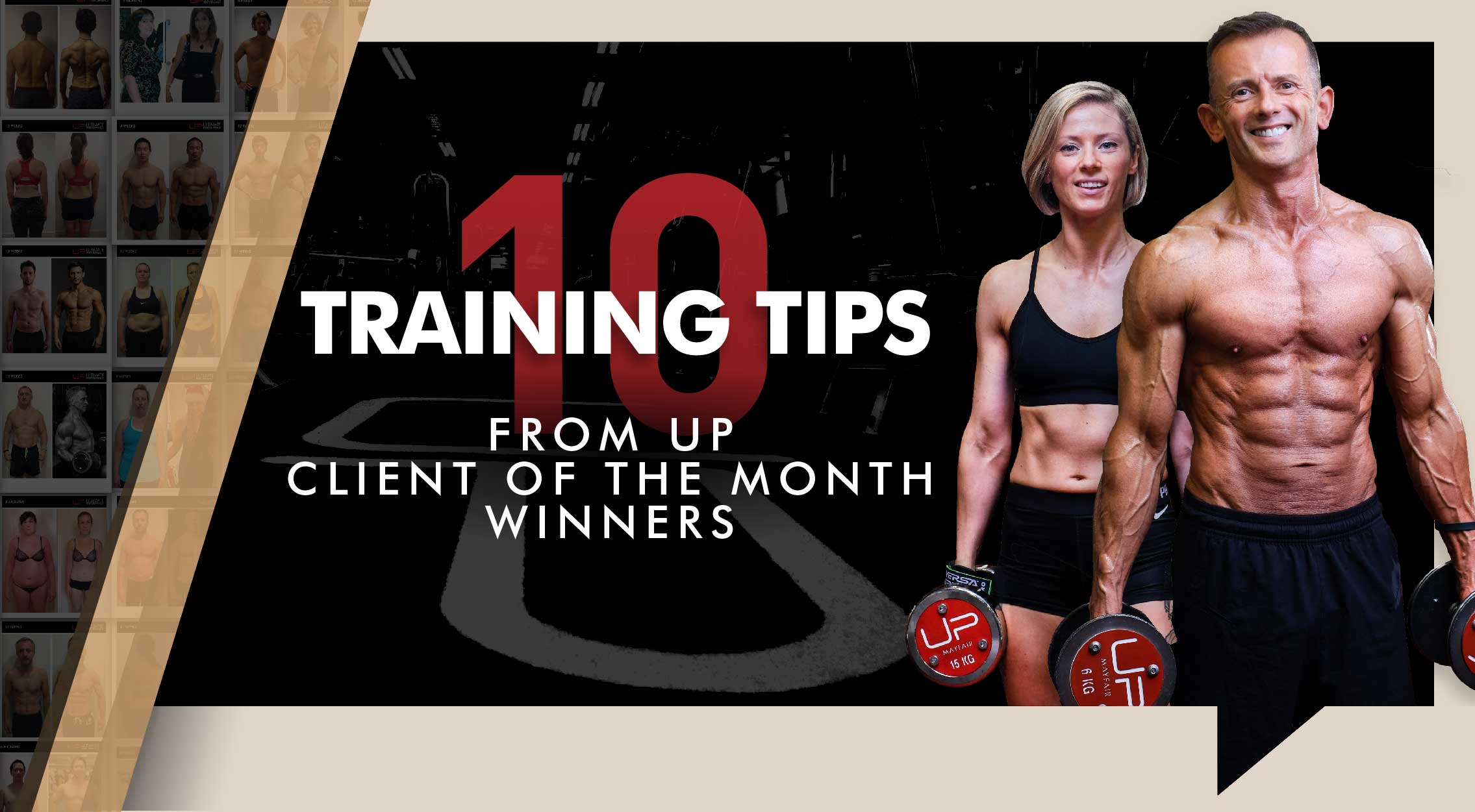 Body Transformation training tips