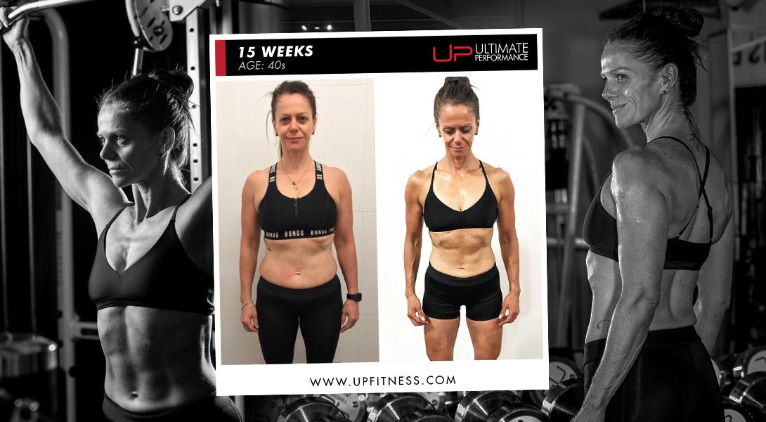 15-week Body Transformation autoimmune thyroiditis Ultimate Performance