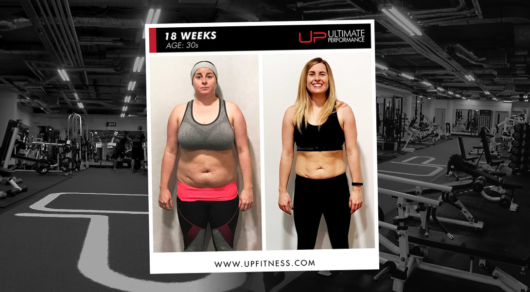 Kelly body transformation Ultimate Performance