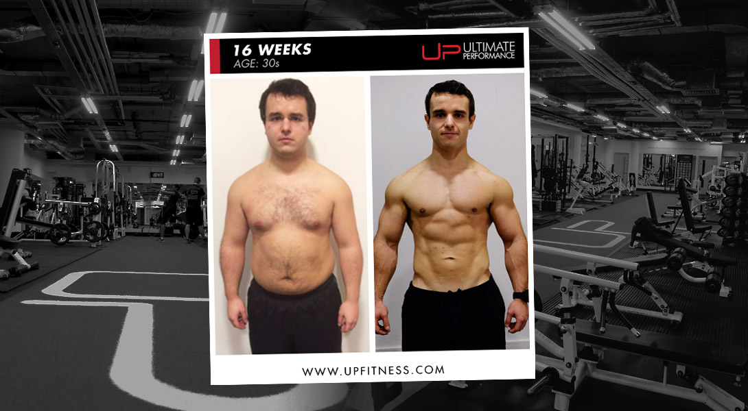 16-week transformation Ultimate Performance