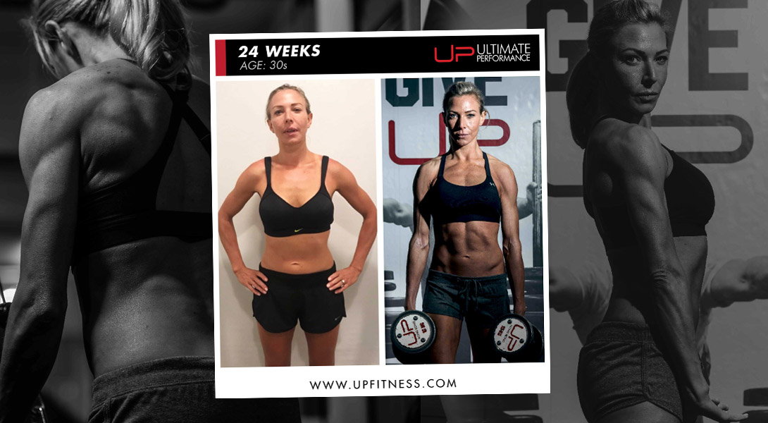 24-week transformation Ultimate Performance Hong Kong