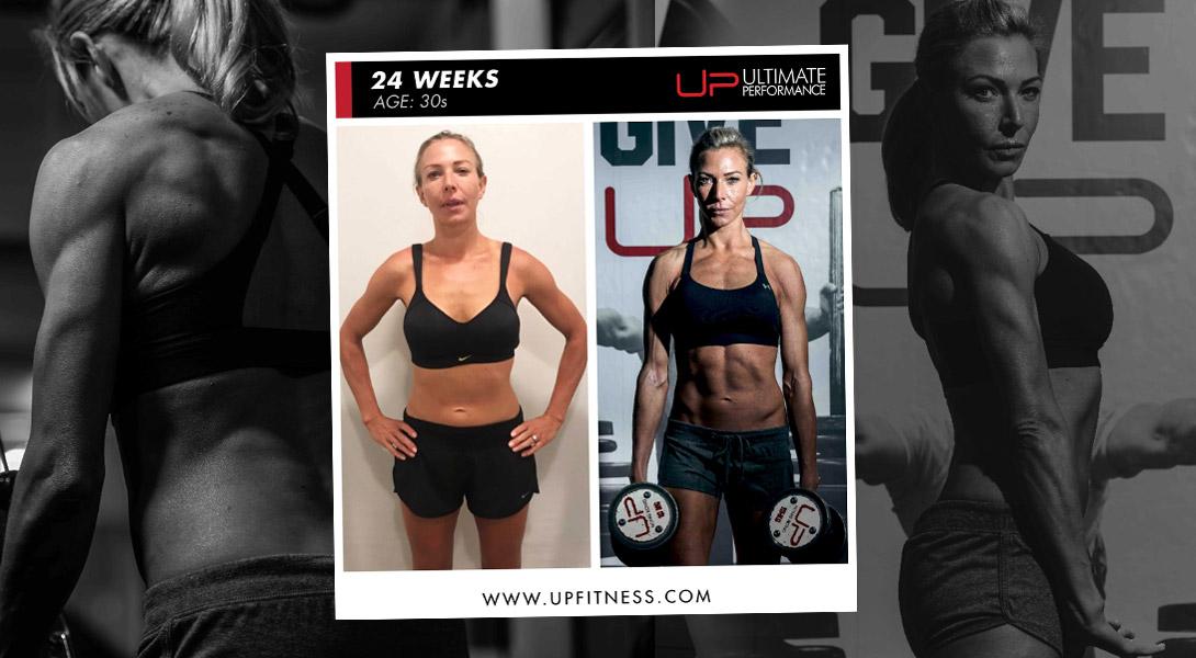 24-week transformation Ultimate Performance Hong Kong