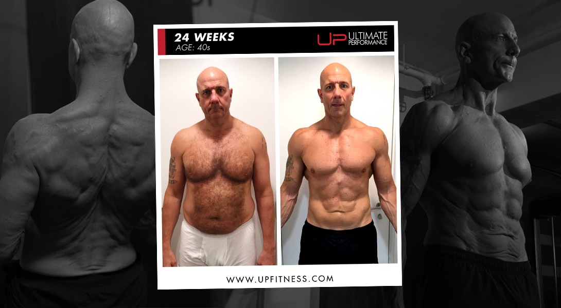 Doug 24-week transformation Ultimate Performance Hong Kong