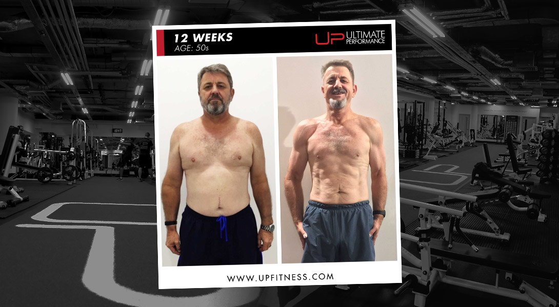 Jurgen 12-week transformation Ultimate Performance Dubai