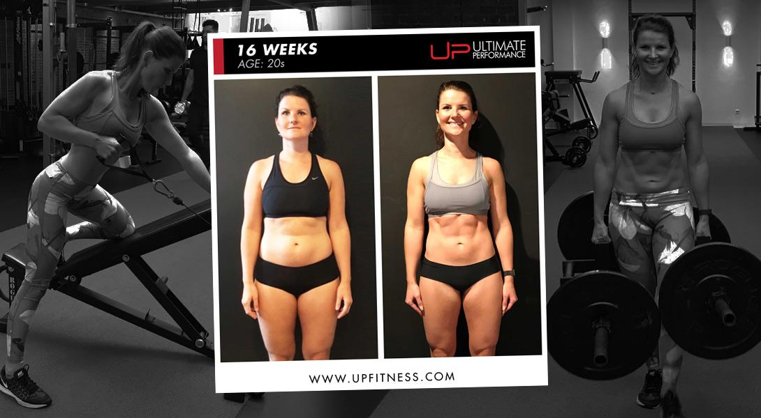 Sanne 16-week transformation