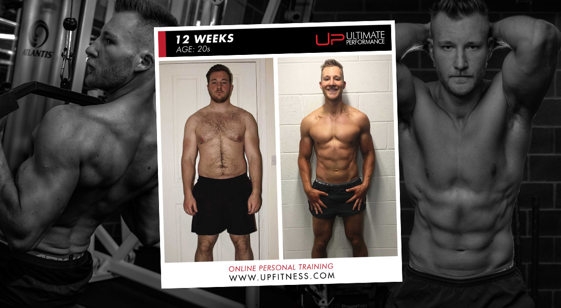 Chris online body transformation Ultimate Performance