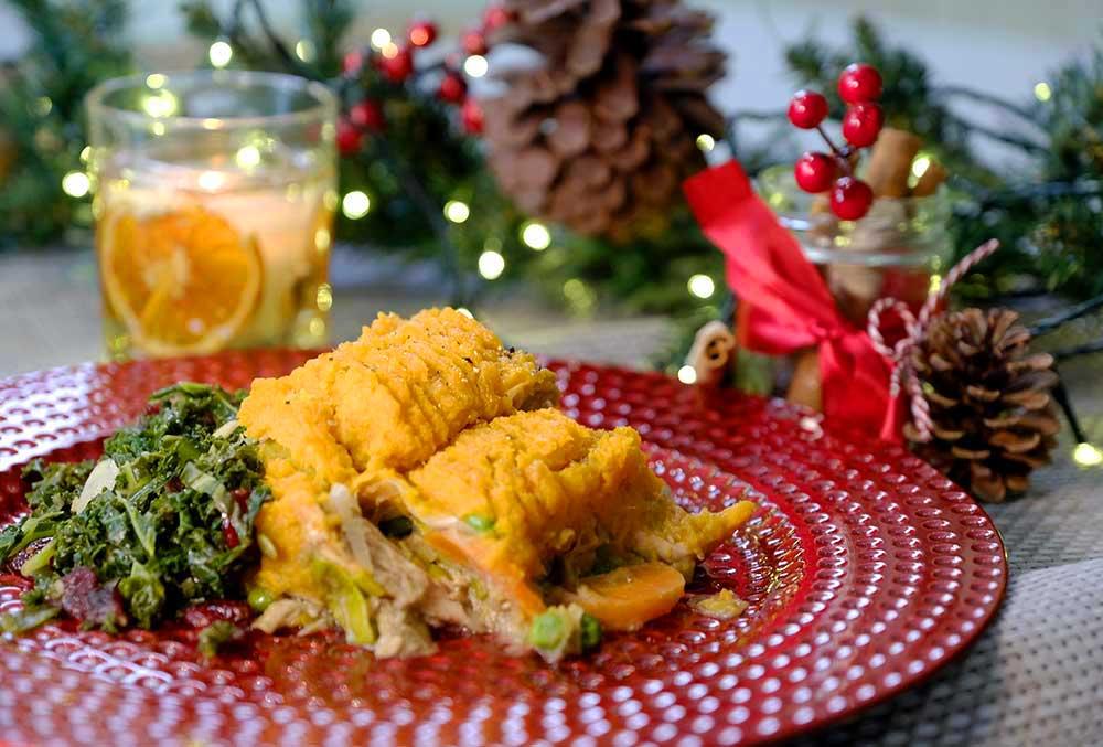 Catherine Tyldesley's Christmas Turkey Pie Leftovers Recipe