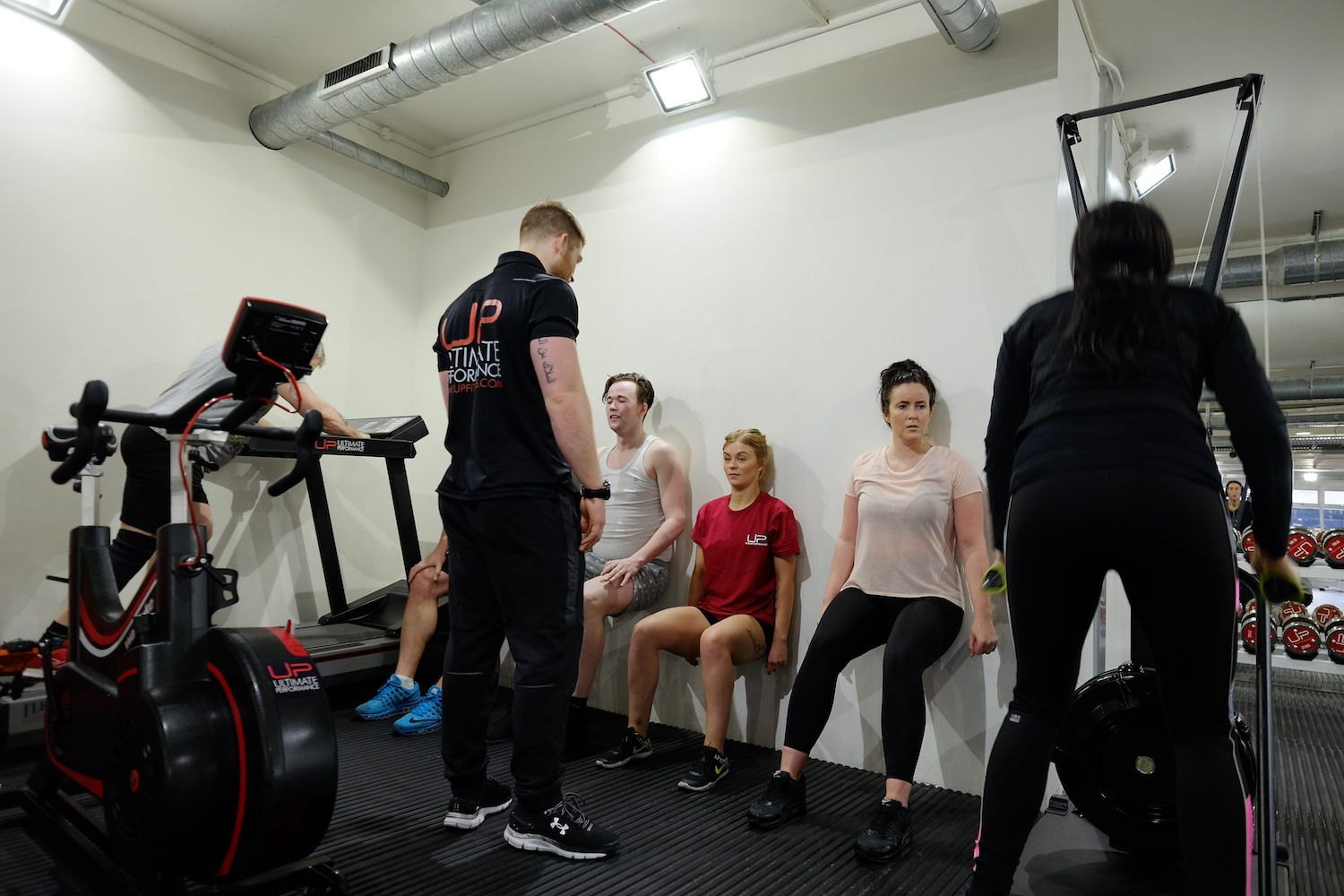 group personal training at Ultimate Performance - UP