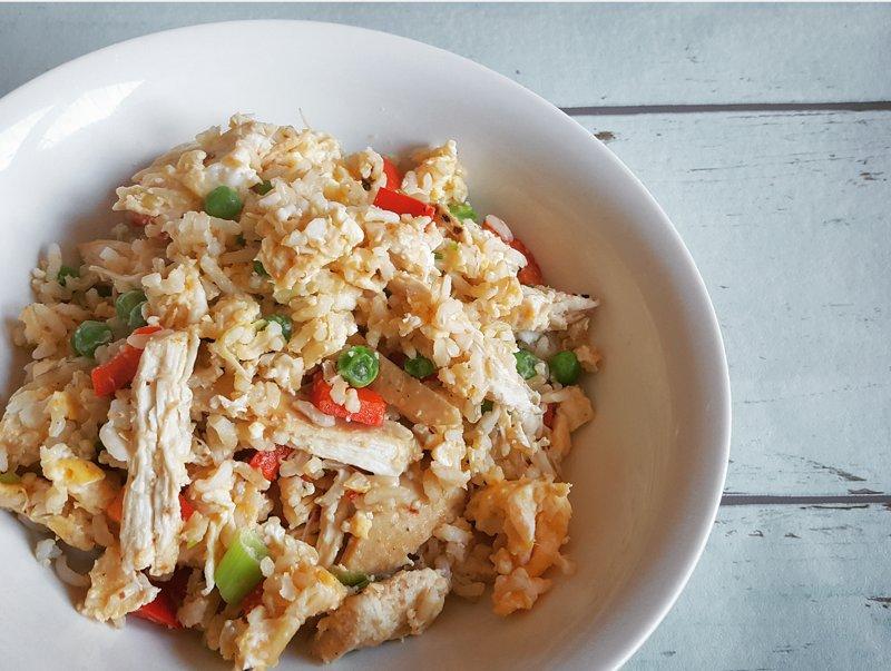 Health takeaway alternative - chicken fried rice