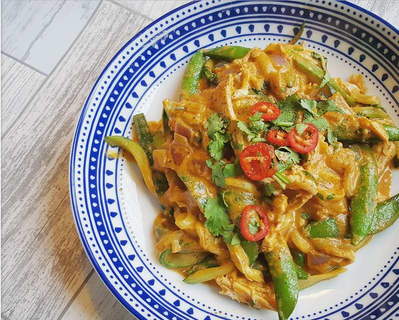 Healthy Thai Red Curry