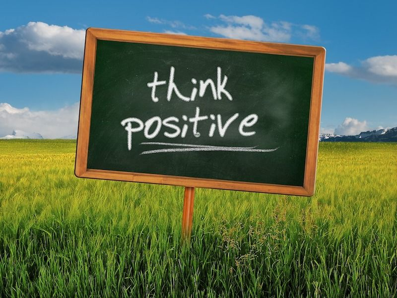 think positive - UP
