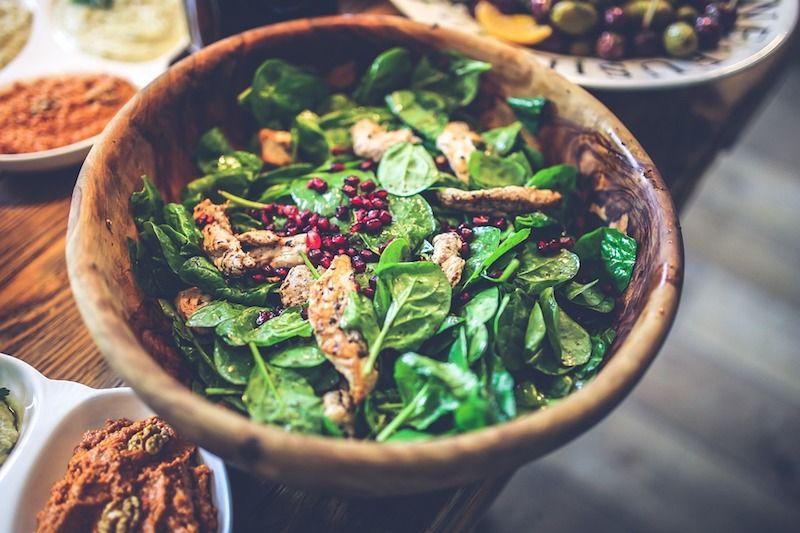 healthy chicken salad - UP