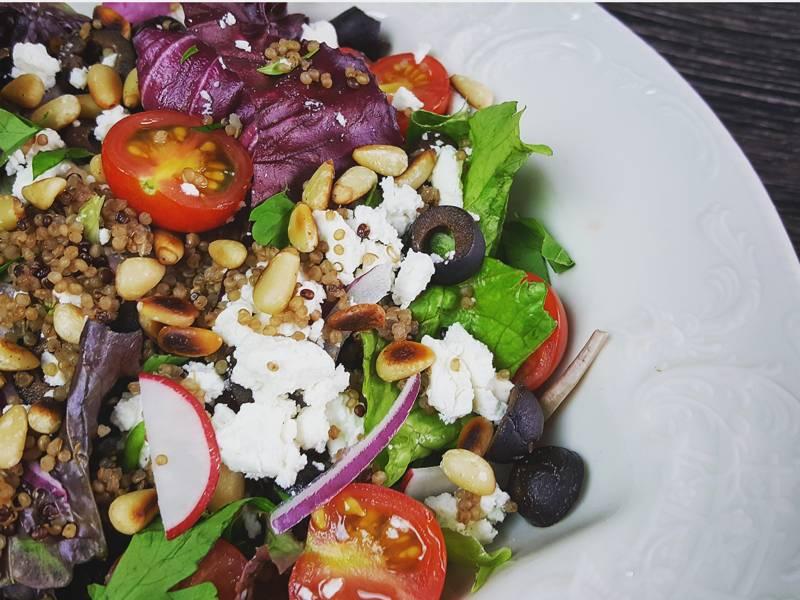 simple quinoa salad