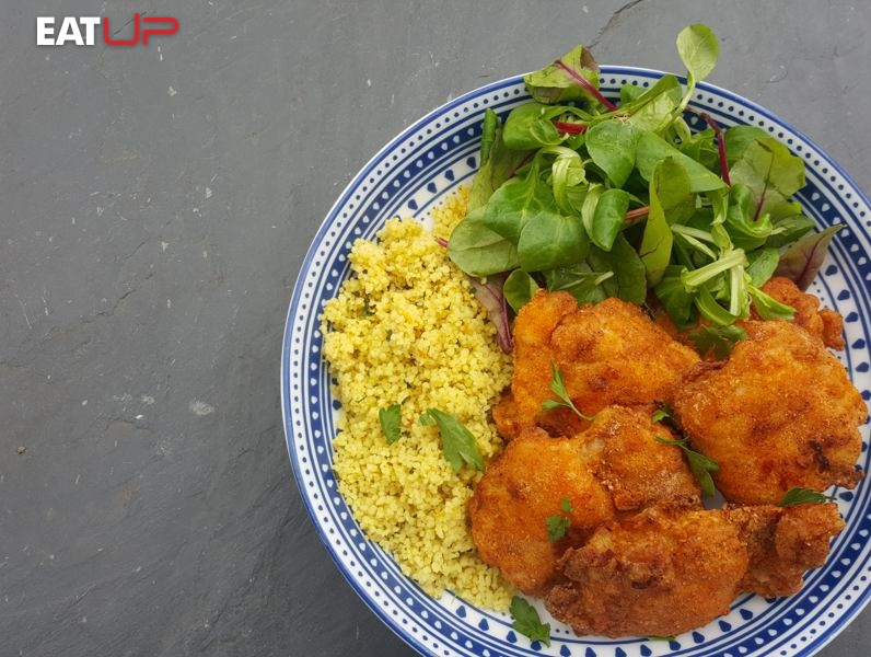 Healthy KFC-style 'fried' Chicken Recipe - UP Fitness