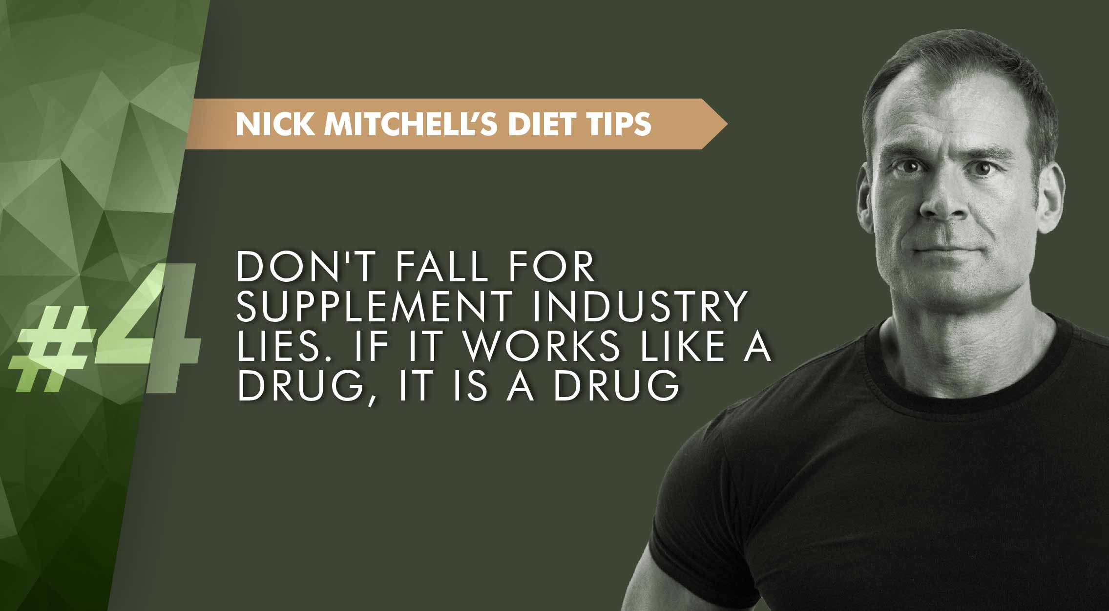 Supplement lies