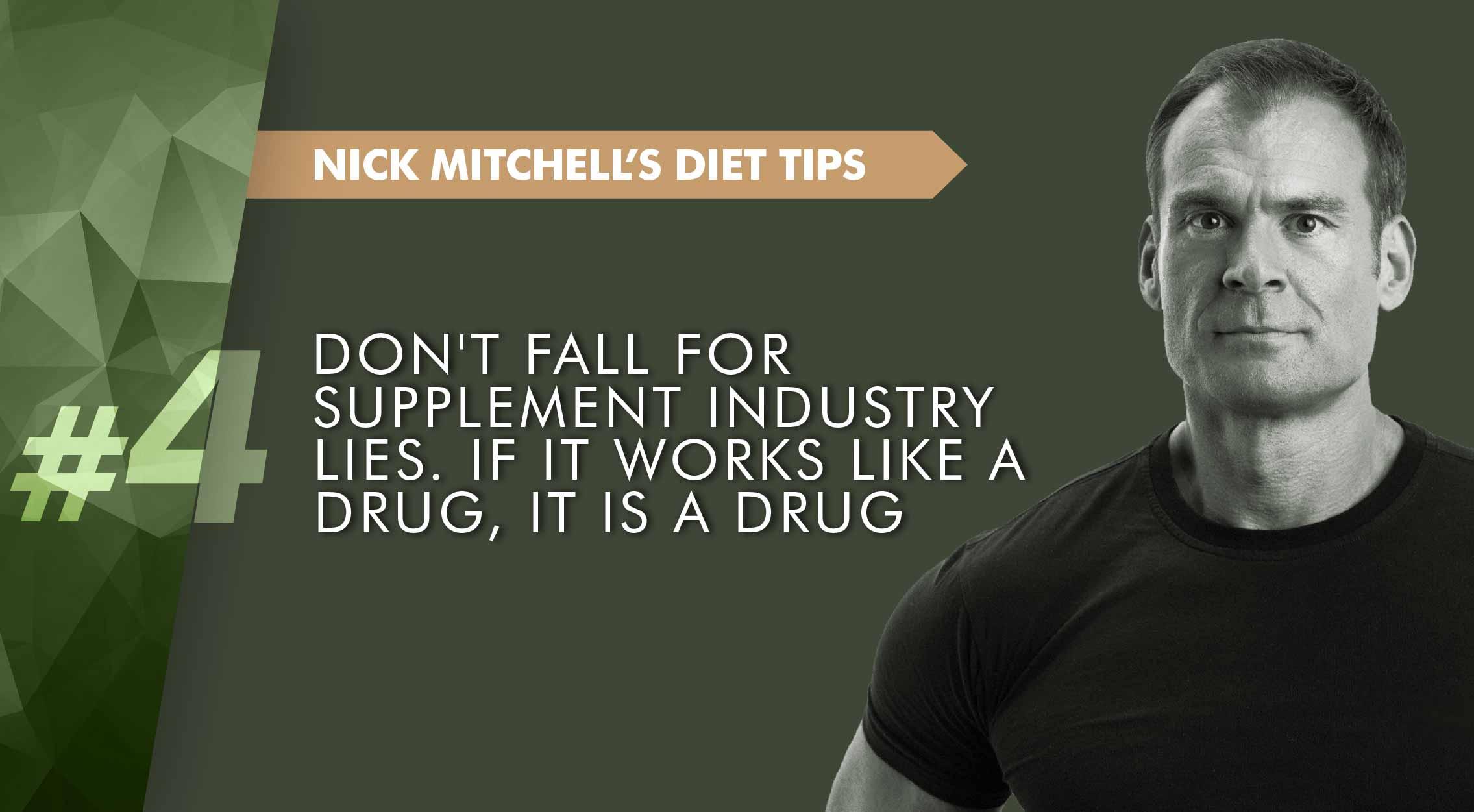 Supplement lies