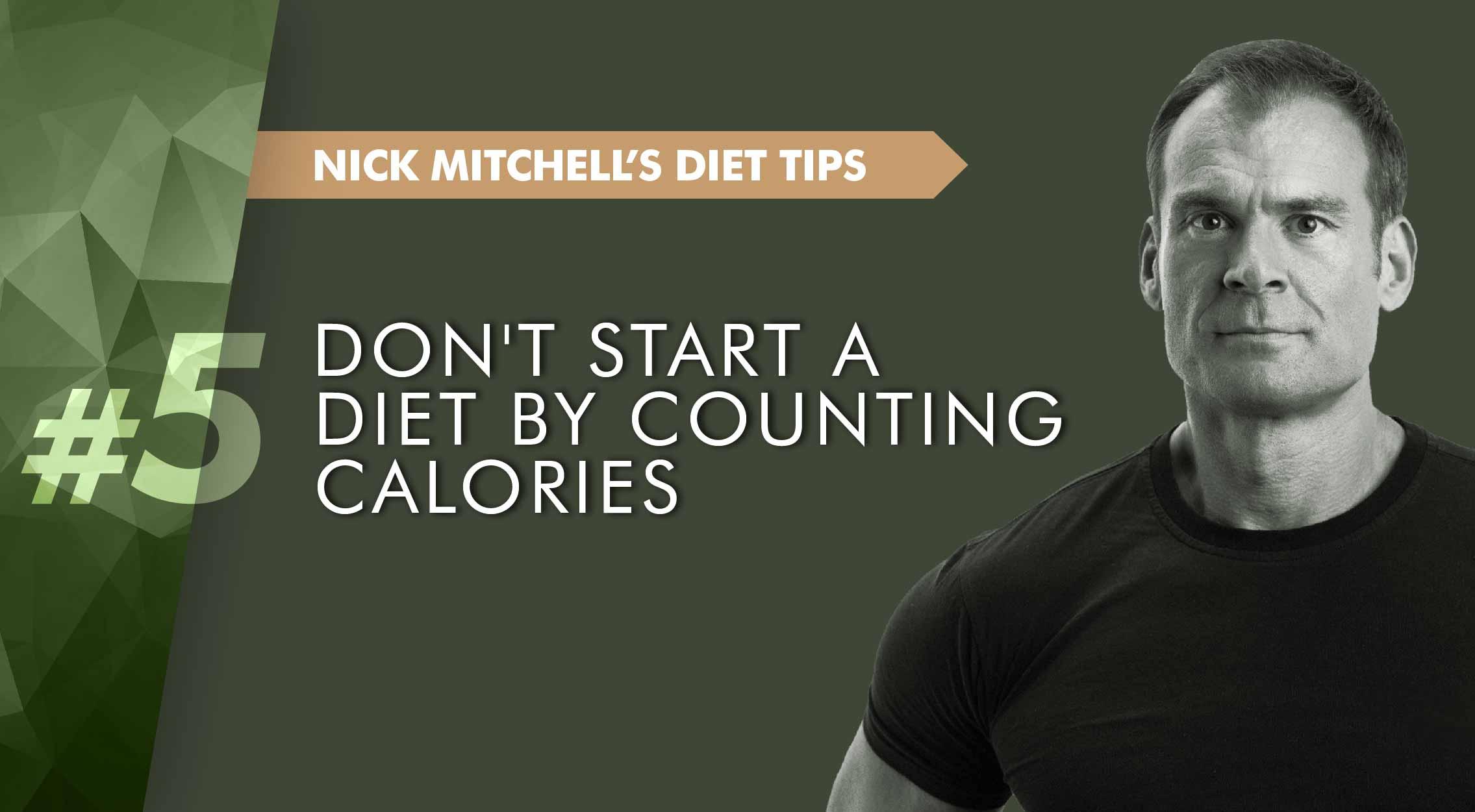 Nick Mitchell calories