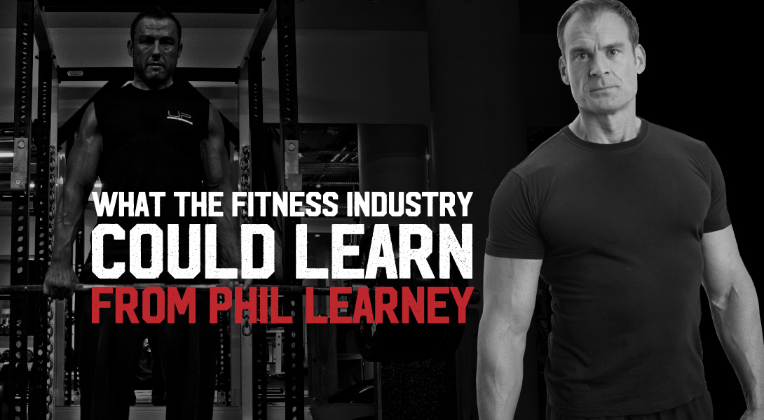 Nick Mitchell explaining why Phil Learney is so valuable to the fitness industry