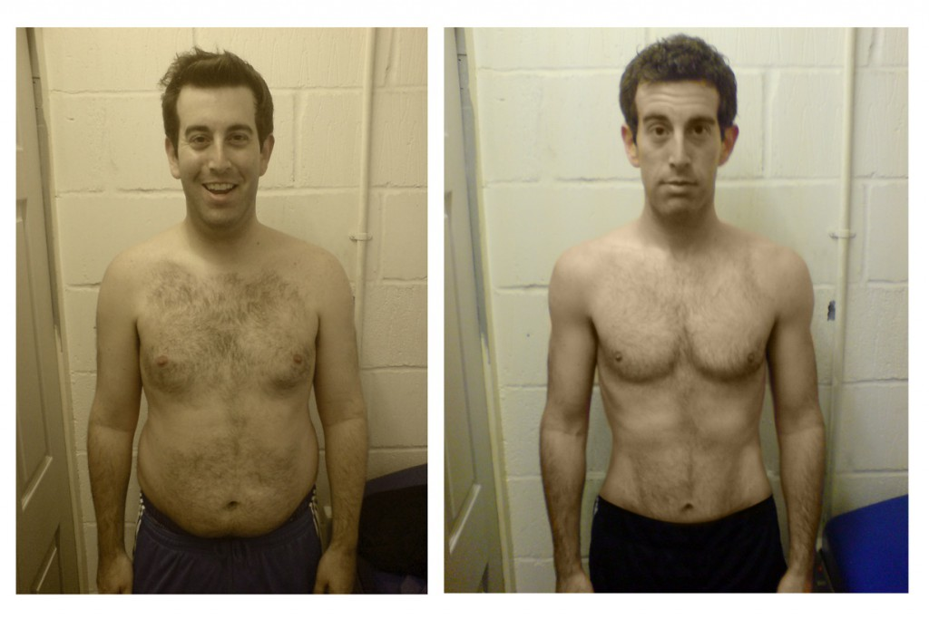 male fat loss transformation - UP