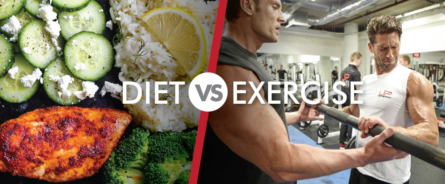 Diet vs Exercise