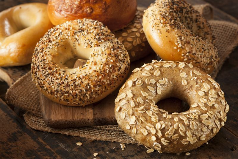 bagel carbs