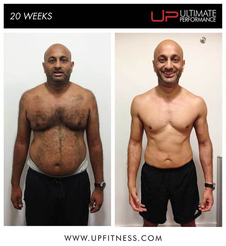20-week transformation UP