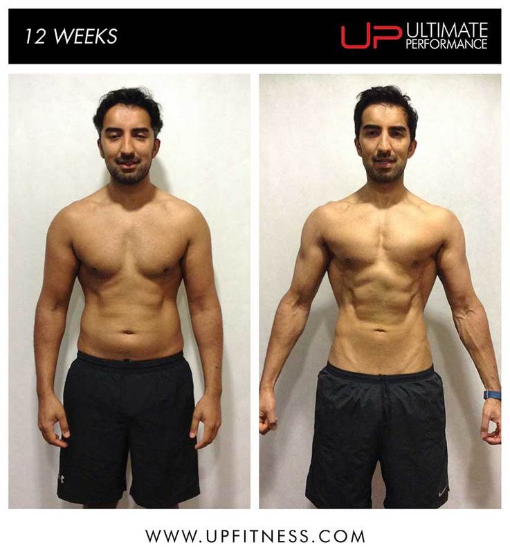 3773dface0d Bivek s 12-Week Fat Loss Body Transformation - UP Fitness
