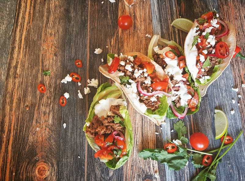 fresh healthy tacos recipe
