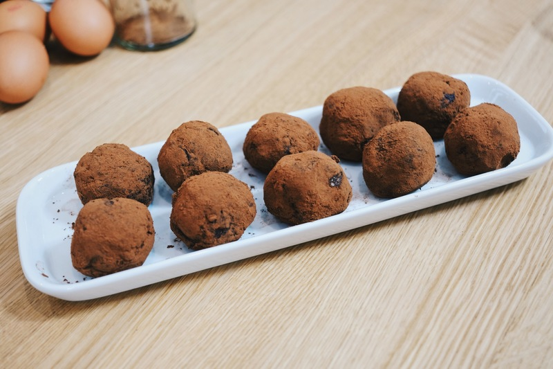 The Ultimate Chocolate Orange Energy Balls - Post-workout snack
