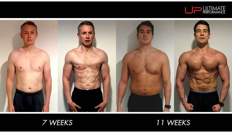 Ultimate Performance body transformation fat loss muscle building