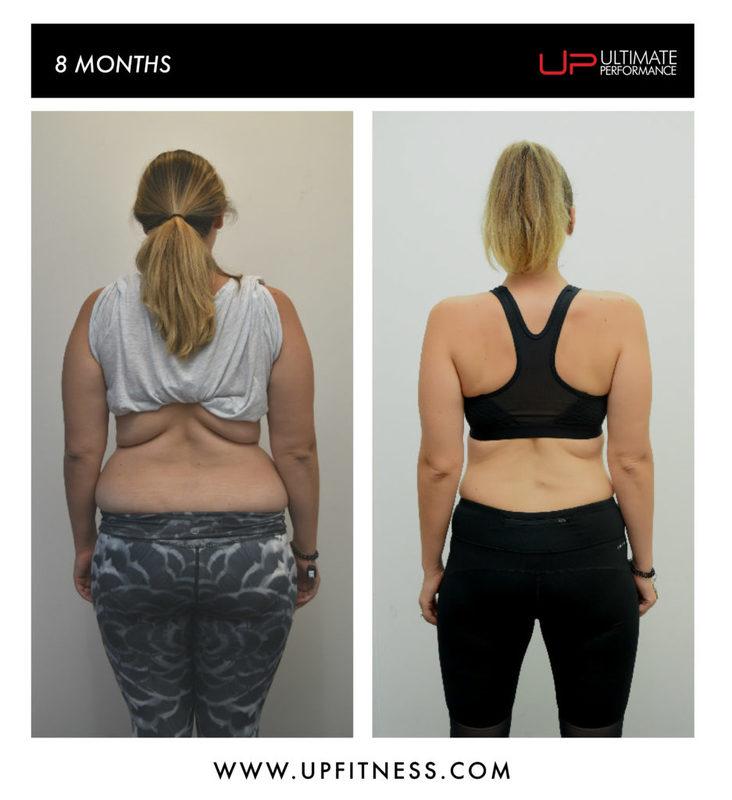 8 month transformation back