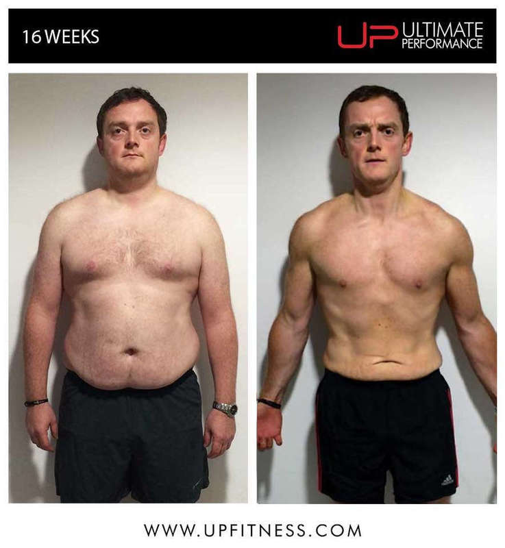 16 week male fat loss