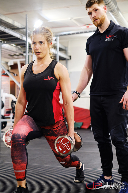 Gemma Atkinson Ultimate Performance Week 1 lunges new