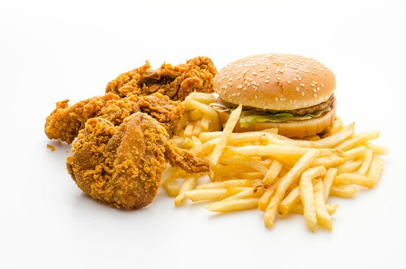 junk food - weight loss guide for Ramadan