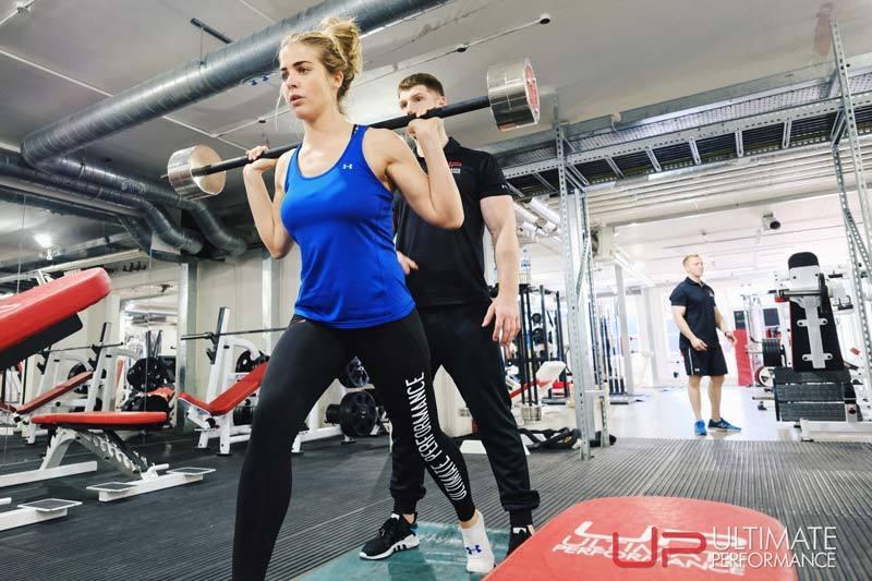 Gemma Atkinson Ultimate Performance Split squat