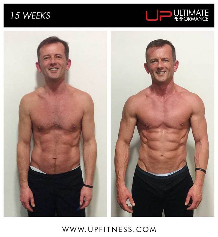 Stewart 15-week transformation Ultimate Performance